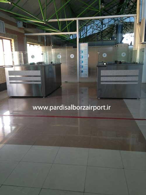 کنترل گذرنامه فرودگاه امام خمینی (ره)