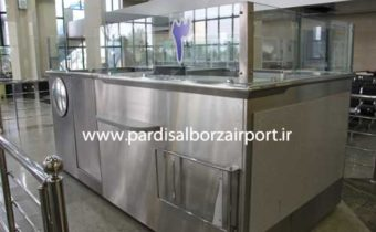 ساخت و تولید باجه یا کانتر کنترل پاسپورت