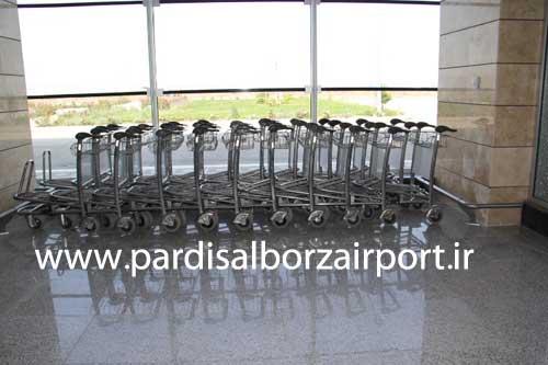 چرخ دستی حمل بار فرودگاهی