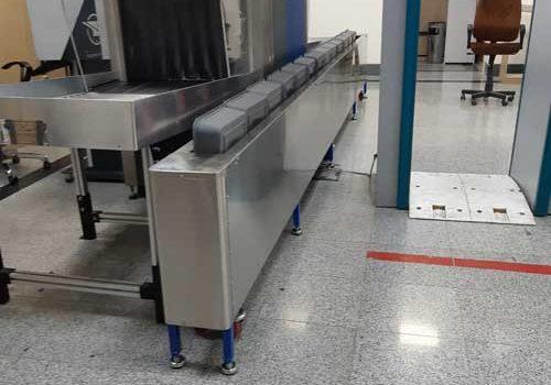 سبد برگردان سیستم بازرسی ایکس ری